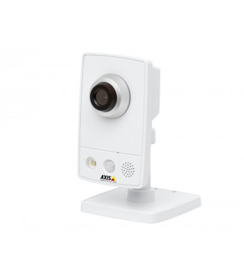 caméra IP HD avec audio axis m1054