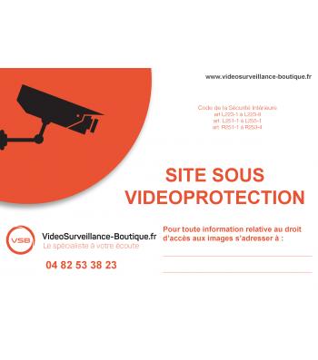 autocollant videosurveillance gratuit