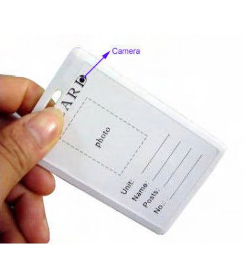 Badge caméra espion dvr - Badge Camera 4Go