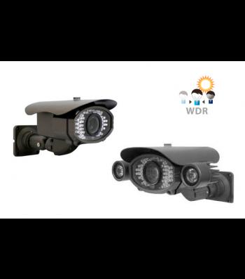 Caméra surveillance analogique extérieure infrarouge WDR SHARK