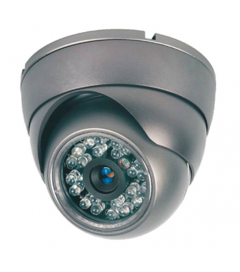 Caméra de surveillance dôme infra rouge 700TVL IR20m 3.6mm