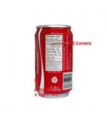 Canette caméra espion 4 Go