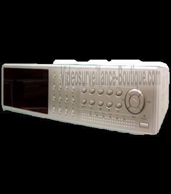 Enregistreur numérique 16 voies MPEG4 TCP/IP