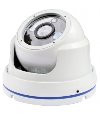 Caméra dôme infrarouge Full HD 1080p - blanche