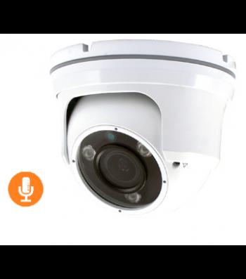 Caméra dôme infrarouge HDCVI Full HD 1080p avec micro