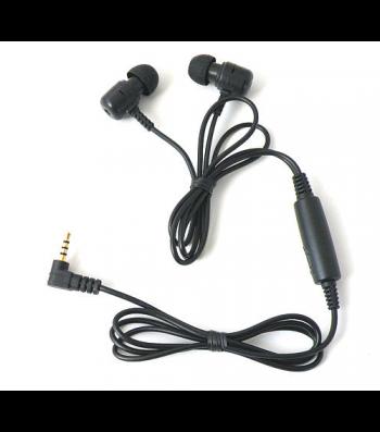 Mini caméra espion dissimulée dans des écouteurs audio EP10
