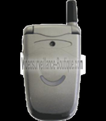 Caméra espion dans téléphone portable
