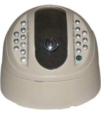 Caméra de videosurveillance dôme infra rouge CCD-ID82A/15MF-W