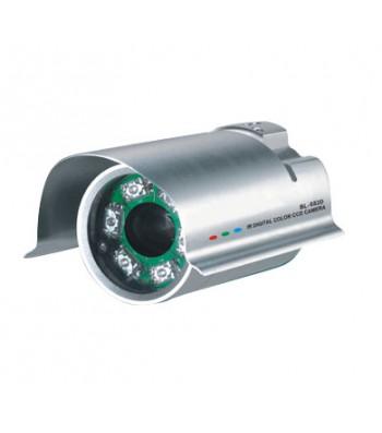 Caméra vidéo surveillance couleur infra rouge longue portée CCD-682D