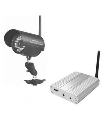 Caméra couleur infra rouge sans fil avec émetteur intégré WCCD-906N + récepteur