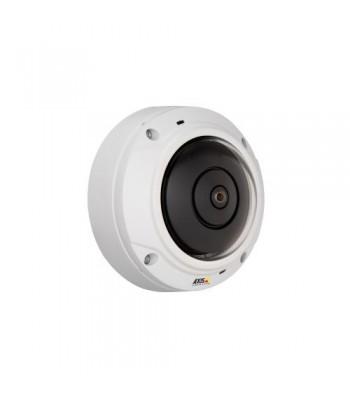 Caméra IP extérieure antivandal avec une vue panoramique 360° et 180° Axis M3027-PVE