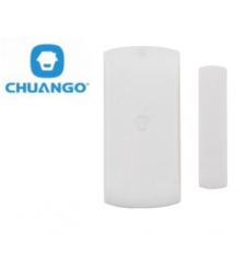 Détecteur magnétique d'ouverture sans fil pour porte et fenêtre  - Chuango