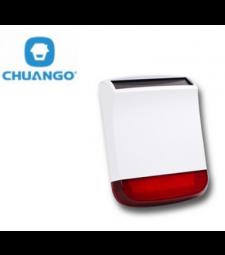 Sirène flash extérieure sans fil solaire - Chuango