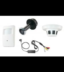 Caméra surveillance espion analogique