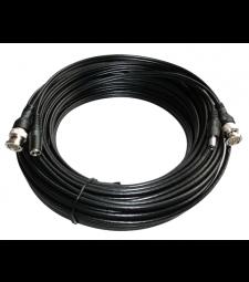 Câble 2 en 1 bnc et alimentation pour installation caméras de vidéo surveillance - 20m