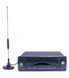 Enregistreur numérique mobile 4 canaux Full D1 anti-vibration spéciale véhicule