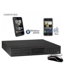 enregistreur numerique videosurveillance iphone et internet