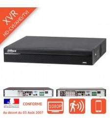 Enregistreur numérique CVR HD-CVI Full HD 1080p 4 / 8 / 16 voies