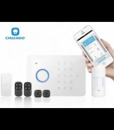 Système d'alarme sans fil discount RTC / GSM - Chuango