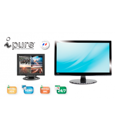 Ipure V : Moniteur video surveillance BNC