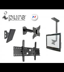 Support ecran moniteur surveillance Ipure