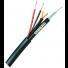 Câble coaxial 3 en 1 RG59 HD + 2 câbles alimentation + télémétrie pour connexion caméras motorisés (300m)