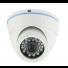 Camera de surveillance dôme HD 720p infrarouge blanche
