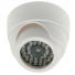 Caméra surveillance factice dôme infrarouge extérieure