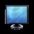 Ecran TFT LCD Moniteur VIDEO CCTV 17 pouces IPURE EV17 avec BNC