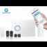 système d'alarme sans-fil chuango RTC / GSM