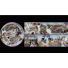 Caméra IP Fisheye 360° 6 Mégapixel vues multiples