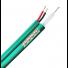 Câble coaxial 2 en 1 KX6 + câble alimentation - 300m - coupe