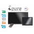 Moniteur video surveillance BNC chassis metal Ipure CVE
