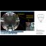 Caméra résau IP PTZ et vue panoramique 360° Axis P5544 - image