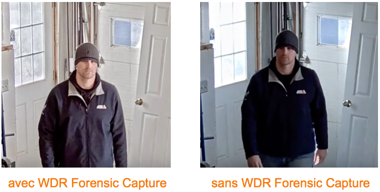 Camera IP Axis WDR Forensic Capture