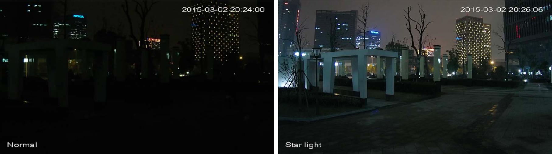 Camera surveillance HDCVI Dahua Starlight jour nuit
