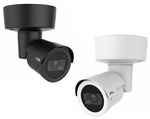 Camera IP Axis M20 2 coloris blanc et noir
