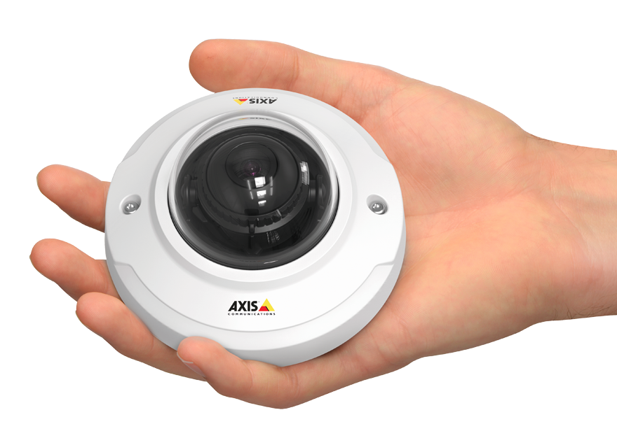 Camera IP Axis M30 mini dome discret et design