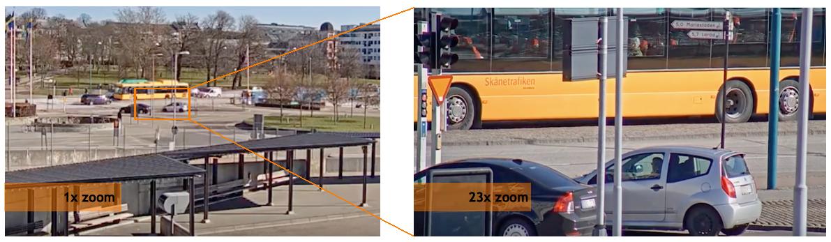 Camera IP dome PTZ Axis P5624-E Mk II zoom x23