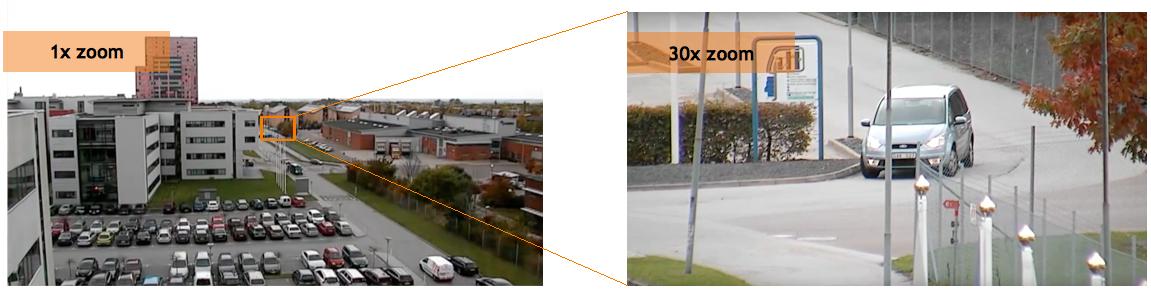 Camera IP dome PTZ Axis P5635-E Mk II zoom x30