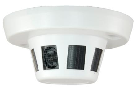 Caméra surveillance espion détecteur de fumée
