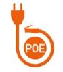 Caméra IP PoE