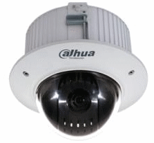 Caméra surveillance HD-CVI motorisée PTZ encastrable