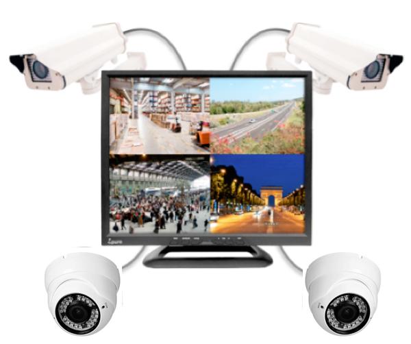 Ecran 12 pouces pour caméra surveillance Ipure V12Q