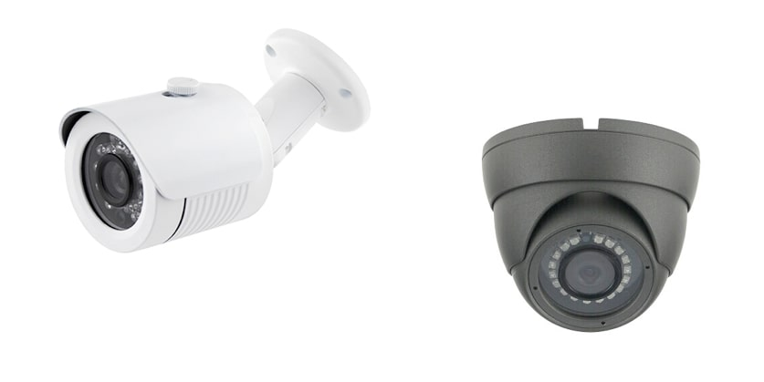caméra infrarouge 960h dome et tube IP66