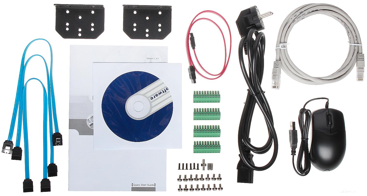 Enregistreur numerique IP 16 voies POE 4K 4HDD - unboxing