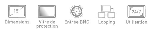 Fonction ecran BNC Ipure MVP15