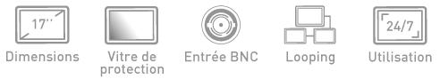 Fonction ecran BNC Ipure MVP17