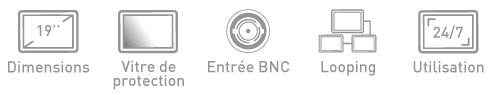 Fonction ecran BNC Ipure MVP19