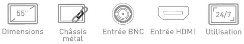 Fonction moniteur BNC Ipure MCM55